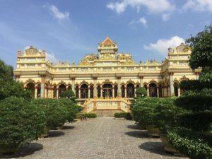 Chùa Vĩnh Tràng ở Tiền Giang - Ngôi chùa lâu đời nhất Tây Nam Bộ