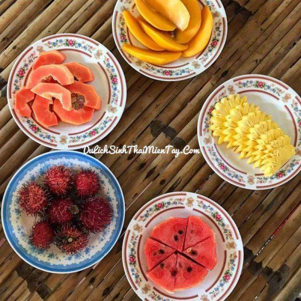 Ngũ quả miền nhiệt đời mát ngọt