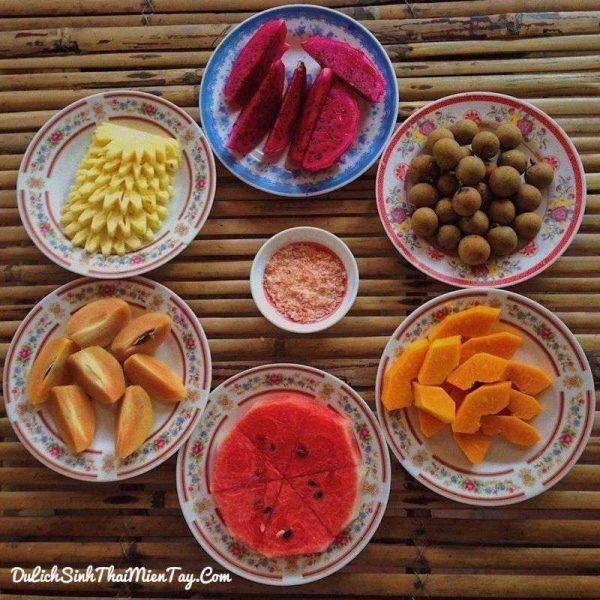 Thưởng thức trái cây miền nhiệt đới ngay tại vườn