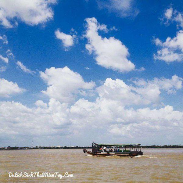 Tour du lịch miền Tây giá rẻ tham quan Cồn Thới Sơn (Cù Lao Lân)
