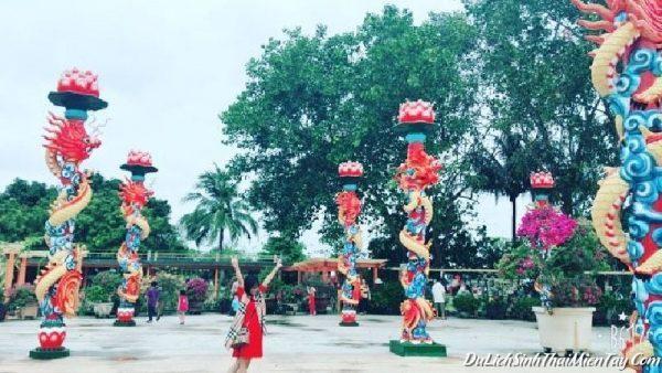 Khu Du Lịch Cồn Phụng - Sân Rồng Khu Di tích Đạo Dừa
