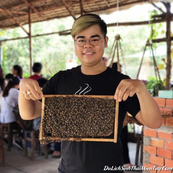 Khu Du Lịch Cồn Phụng - Tham quan trang trại nuôi ong