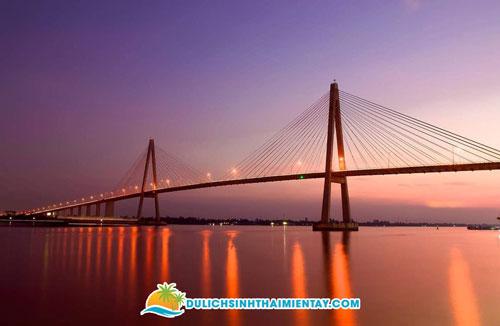 Cầu Rạch Miễu - Tiên Giang - Bến Tre