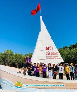 Mũi Cà Mau - Tour Miền Tây 3 ngày 2 đêm