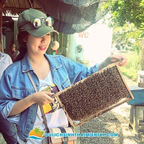 Tour Miền Tây - Tham quan trại ong