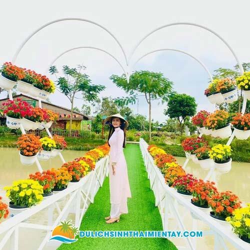 Tour làng hoa Sa Đéc Đồng Tháp 1 ngày