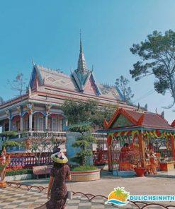 Tour miền Tây chùa Chén Kiểu Sóc Trăng